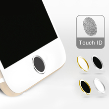 Fingerprint Identification Function Home Button Sticker protector Home keypad Film Stickers For IPhone 5s 6 plus