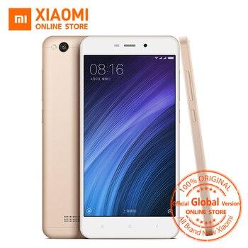 Mondial Vesion Xiaomi Redmi 4A 32 GB ROM Mobile Téléphone Snapdragon 425 Quad Core CPU 2 GB RAM 5.0 Pouce 13.0MP caméra 3120 mAh Batterie