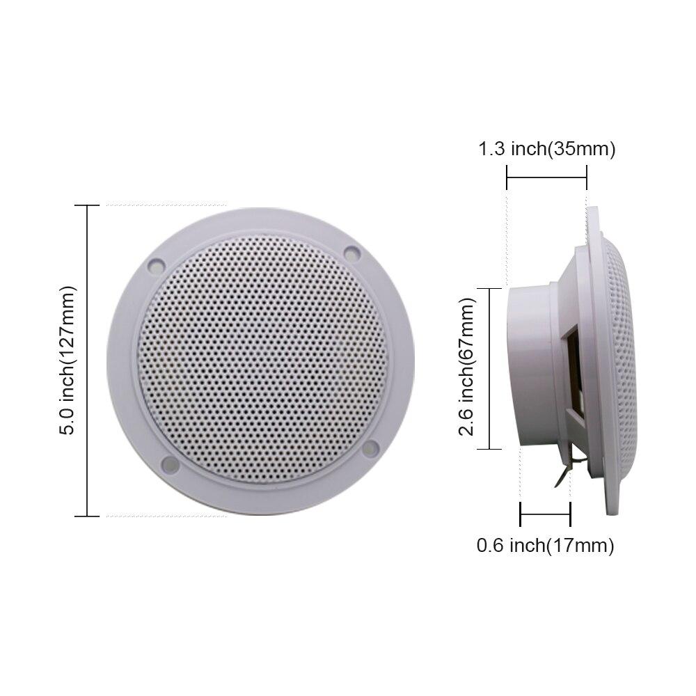 160-Watts-4-Waterproof-Marine-Speaker-Boat-Motorcycle-Car-speakers-Sound-System-For-SPA-Room-UTV