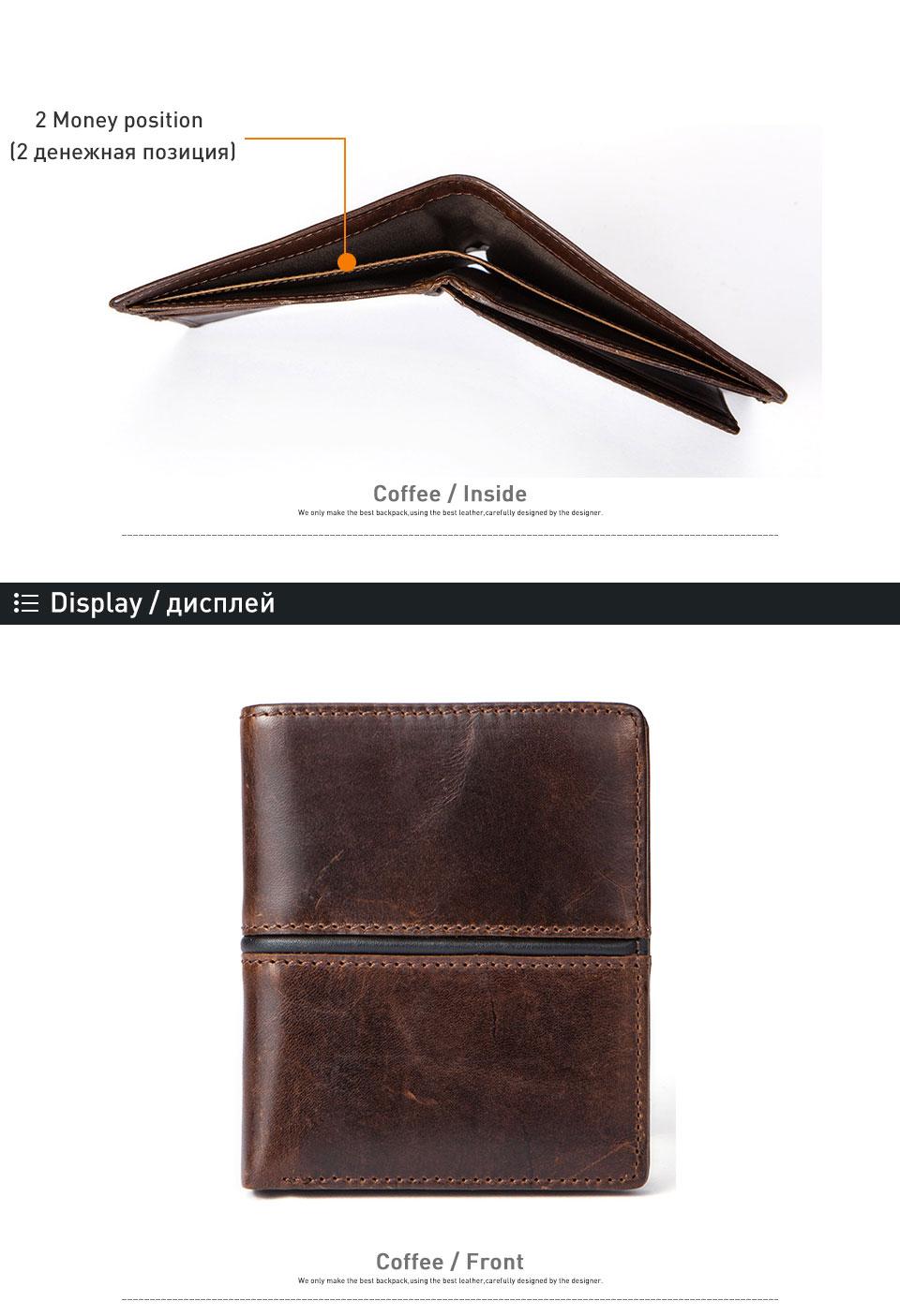 3 card holder men leather