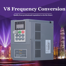 1.5KW 220V Single phase Input and 220v 3 phase OutputMini AC Motor Drive Frequency Converter V8 M 2S 1R5GB  0-400HZ