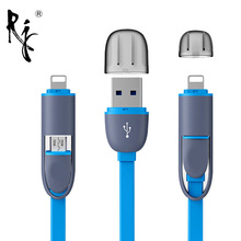Micro USB Charger Cables For Samsung S3 S4 S5 For Apple iPhone 5 5S 5C 6 6S 7 For iPhone 8 Pin Charging USB Cable Adapter(China)
