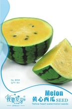 Mix minimun $5 Hot selling Small Yellow Water Melon Seeds, Original Package 8 pcs Fruits Watermelon Seeds
