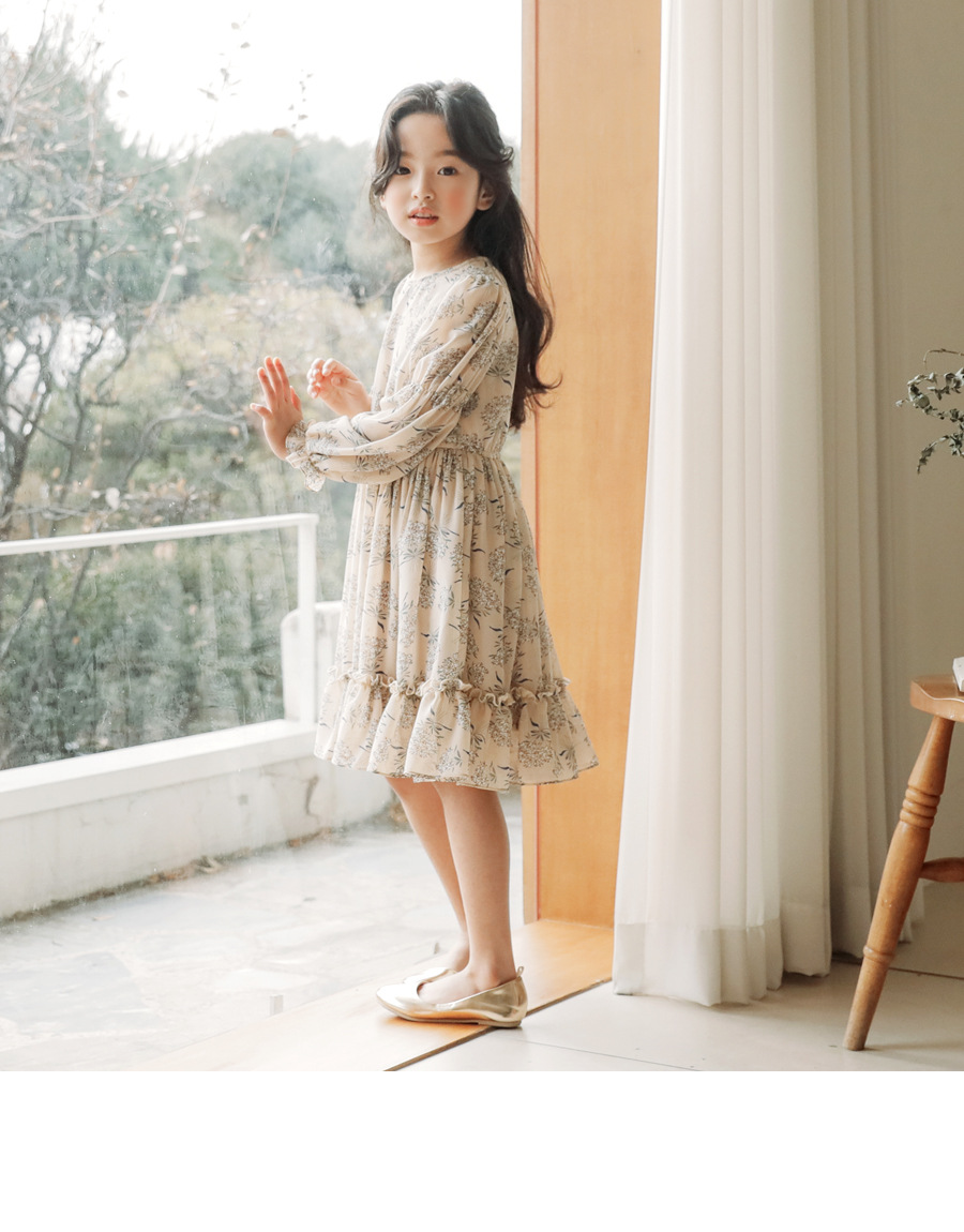 chiffon floral pattern dresses for girls of 12 10 11 14 2 4 6 years old High Quality children dresses 8 year long sleeve clothes 5 7 9 13 15 16 Years little teenage girls spring dresses for girls children girl spring dress (8)