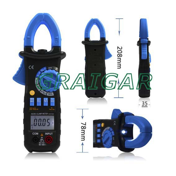 ACM03 AUTO RANGE  DIGITAL AC/DC CLAMP METER<br>