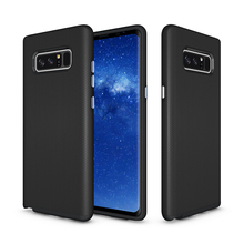 Back PC+ TPU Bumper Heavy Duty Protection Aiti-Slip Anti-scratch Coque For Samsung Galaxy S8 Plus Note 8 Case Protective Screen(China)