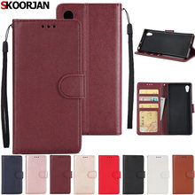 Buy Coque Sony Xperia XA1 plus Case Flip Wallet Stand Leather Card Slots Cases Photo Frame Phone Protective Cover XA1plus for $3.46 in AliExpress store