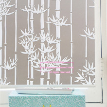 Window Privacy Cover Films,Home Decorative Frosted Self Adhesive static cling Glass Film,Size 60 x 200cm