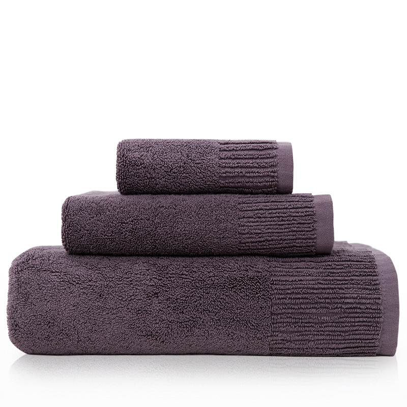 3 PCS Cotton Body Hand Face Bath Towel Sets Sport Kitchen Towel Adult Swimming Towels Luxury Gift Quality Home Textile(China (Mainland))