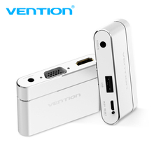 Buy Vention USB HDMI VGA Audio Video Converter 3 1 USB Digital AV Adapter iPhone 8 Android USB Audio Adapter Samsung for $25.49 in AliExpress store