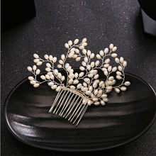 New arrivals Combs Pearl Headwear bride Wedding dress accessories beautiful for woman