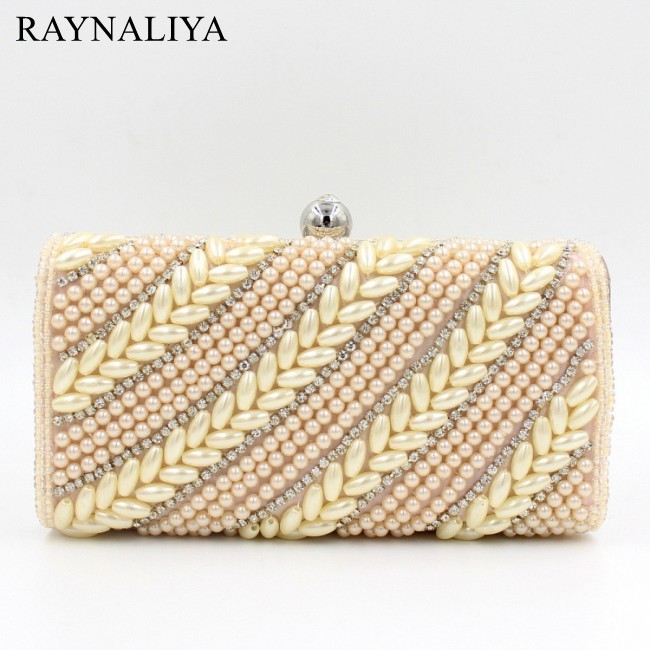2017 Real New Arrival Minaudiere Evening Bags Beaded Women Geometric Crystal Clutch Party Beading Day Cluthes Smyzh-e0191<br>