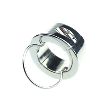 240G Weights Ball Stretcher Scrotum Rings Brinquedos Sexuais Stainless Steel Male Enhancement Cock Ring Locking Adult Sex Toys