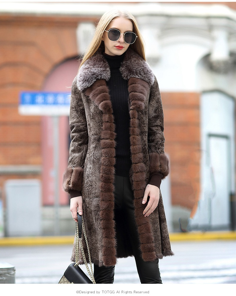 genuine real fur and leather jacket women (4)