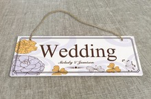 Personalized Outdoor Wedding Reception & Ceremony Decoration Directional Signs wedding sign board   SB014H