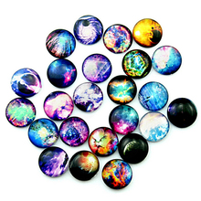 24Pcs 12/20/25MM Glass Dolls Eye DIY Fantasy Pattern Craft Eyes for Star Universe Toy Eye Time Gem Accessories No Self-adhesive(China)