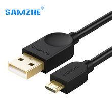 SAMZHE USB2.0 Micro USB Cable Android CellPhone Cable Data 5V 2A Charging Cable for Xiaomi,Samsung,OPPO,OnePlus 3m 2m 1m