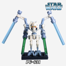 1PC General Grievous Lightsaber Starwars Diy figures Star Wars 7 Super Heroes Building Blocks Bricks Kids DIY Toys Xmas - Five-Stars Store store