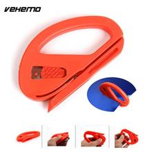 Vehemo Car Vehicle Snitty Fiber Vinyl Film Sticker Wrap Safety Cutter Cutting Knife Blade Tool Car Styling(China)