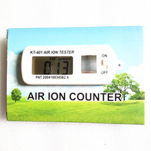 Portable Mini Car Air Ion Tester Meter Counter Clean Room Filter Oxygen Ions Maximum Hold Auto Air Purifier