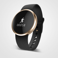 New L58 Bluetooth Smart Watch Heart Rate Monitor Wristwatch Waterproof Ultra Thin Wrist Smartwatch For IOS Android Phone Mate