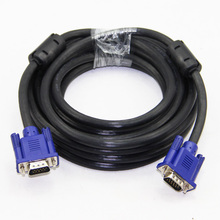 VGA Cable Male to Male 3+6 HD 15PIN For LCD CRT PROJECTOR PC Laptop Monitor 1.5m 3m 5m 10m 15m 20m(China)