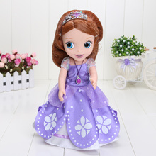 12Inches Sofia Princess Doll Toy Sofia The First princess Dofia Doll Plush Stuffed Soft Dolls For Girls(China)