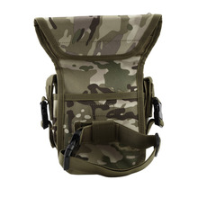 NEW Outdoor Waterproof Tactical Stylish Military Unisex Solid Utility Thigh Pouch Waist Belt Pouch Weapons Sports Drop Leg Bag