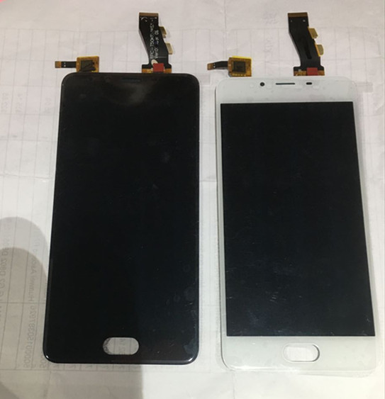 100% new LCD screen display+ Touch Digitizer For Meizu U10 White or black color Free shipping<br><br>Aliexpress