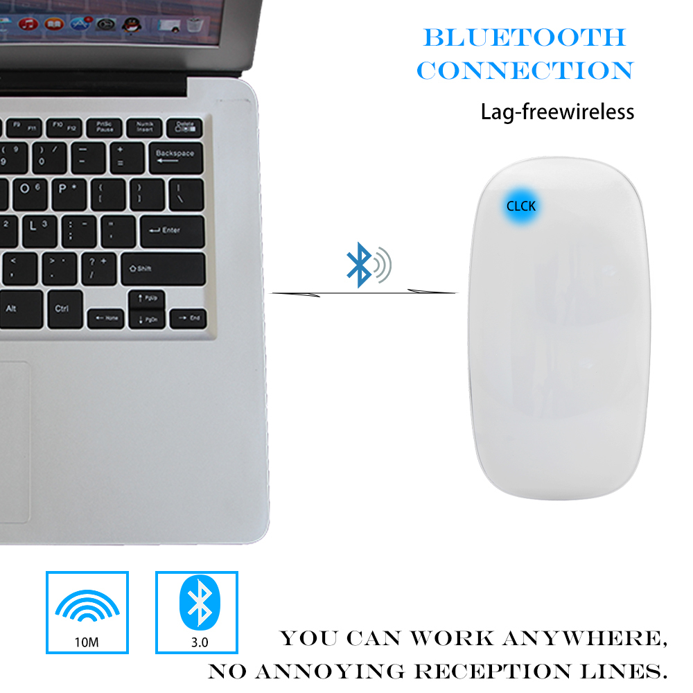 bluetooth wireless touch mouse