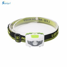 Mini Head Lamp 4 Mode Waterproof 600Lm R3+2 LED Flashlight Super Bright Headlight Headlamp Torch Lanterna with Headband Use 3AAA(China)