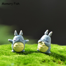 10pcs/Set Anime Movie My Neighbor totoro Home Decoration Toys Handicrafts Miniatures Action Figures Collection Model Toys(China)