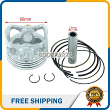HH-113A YX YINXIANG 160cc Engine Piston And Piston Ring Set 60mm for Kayo Apollo Bosuer Dirt Pit Bike parts Free shipping