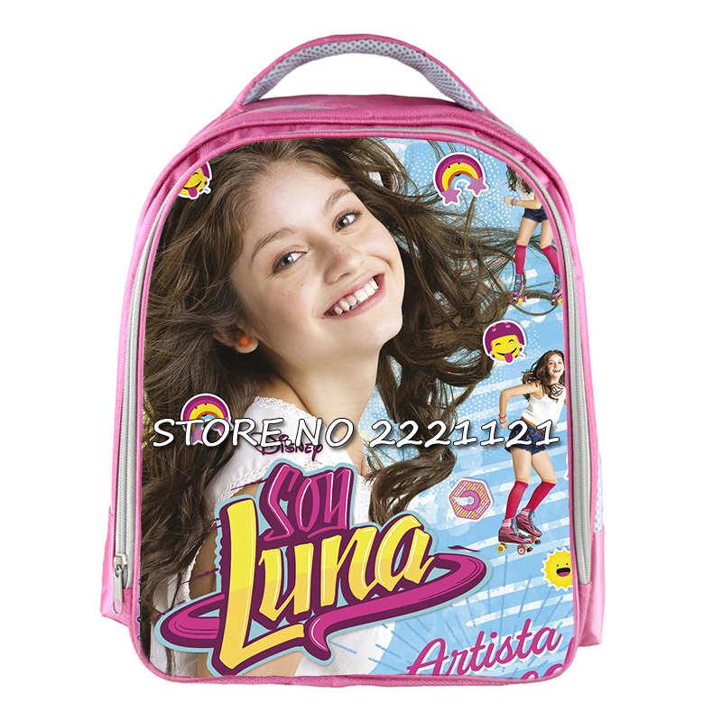 Soy Luna Backpack Small Children School Bags Cartoon Pink Kids Kindergarten Bag Backpack For Teenagers Girls <br><br>Aliexpress