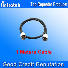 Wholesales 1 Meter Short Cable 5D Coaxial Connecting Cable 1m N Male to N male for Signal Repeater Booster, Antennas & Splitter
