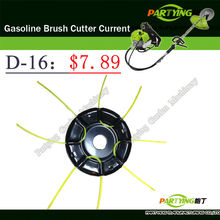 Free Shipping free petrol lawn mower trimmer head 2-stroke brush cutter head grass cutting machine gasoline plastic D-16(China)