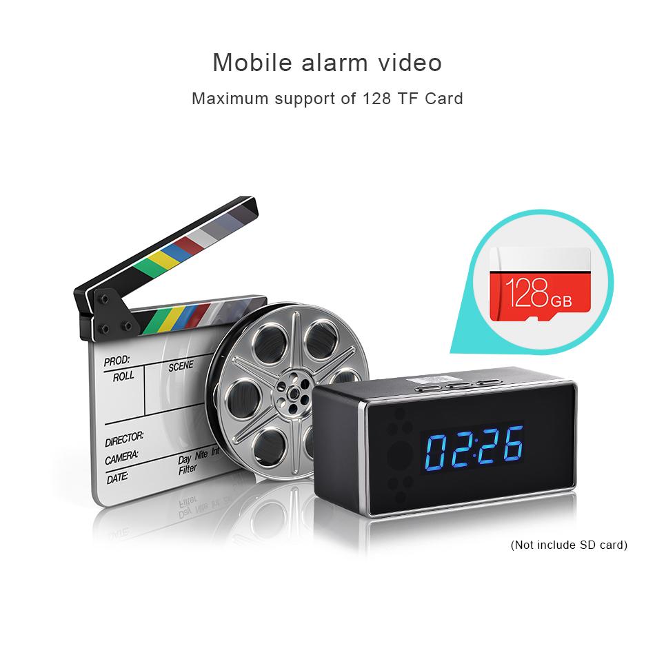 Alarm Clock Video Intercom Portero IP Security Camera Wifi Looline
