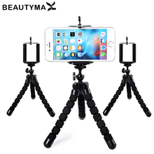 Universal Octopus MINI Tripod Stand Holder Flexible Tripod Holder for iPhone X 8 7 6 6S plus for Samsung Note 8 s8 plus s7 edge