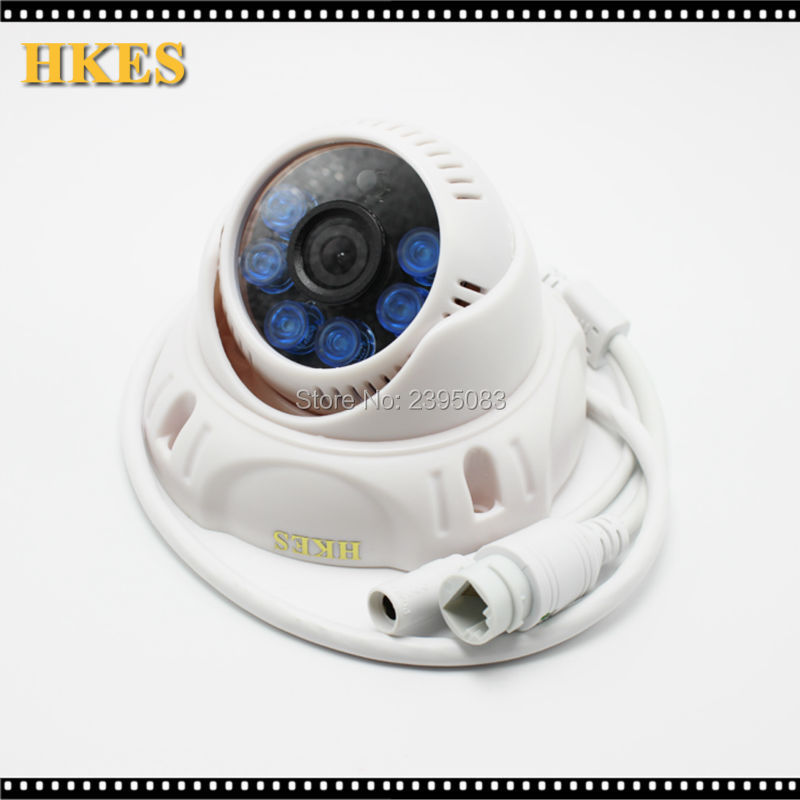 H.265 1080P IP Camera Onvif IR Night Vision H.264 2MP 1080P CCTV Security indoor Dome Camera Android iPhone<br>