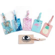 Creative Cute Trendy Flamingo Eyes Pineapple Pattern Card Organizer Silicone PVC Travel Card Cover Portable Card Storage Bags(China)