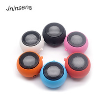 Jninsens Portable Hamburger Mini Speaker Mp3 Music Loudspeaker Player Outdoor 3.5mm Wired Speaker Sound Box for Computer Phones(China)