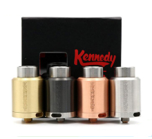 KENNEDY 25 RDA Vaporizer Clone 2 POST Rebuildable Atomizers 25mm Diameter SS Black Brass Red Copper PEEK Insulator E Cigs Fit Bo