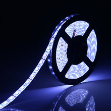 1m / 5m 12V Double PCB SMD 5050 Flexible LED Strip light 60Leds/m 10mm Width ip20 Non-waterproof / ip65 Waterproof LED Tape lamp