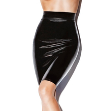 Buy Sexy woman high waist rubber latex pencil skirt long skirt exotic costumes