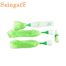 Multifunctional Electric Green Feather Dusters Dust Cleaning Brush for Blinds Furniture Electronics cepillo para polvo#6