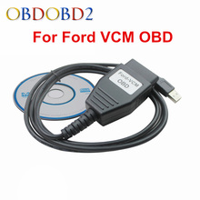Super OBD2 Diagnostic Scanner For Ford VCM OBD Auto USB Diagnostic Cable For FORD VCM OBD For FORD For Mazda Free Ship(China)