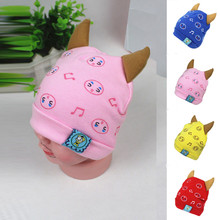 newborn photography props Baby Beanie For Boys Girls Cotton Hat ChildrenPrint Hats touca infantil elodie details(China)