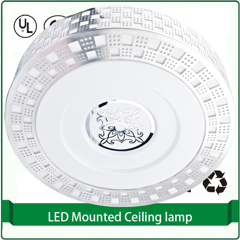 1 pieces 385mm 21Watt ceiling led lamp ceiling mounted lighting round led ceiling light 21w<br>