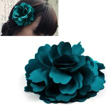 Beauty fashion Rose Flower hairpin brooch hair accessory headband hair rope brooch