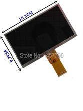 "New 7"" inch TABLET Freelander 3GS LCD Display Matrix 163*97mm 50pin 1026*600  LCD Display Screen Panel"